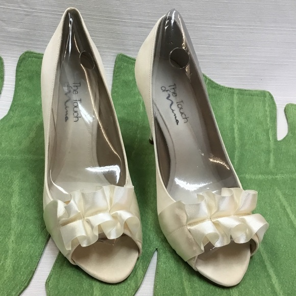4be32a1fc7d New Peep Toe Pumps by Touch of Nina